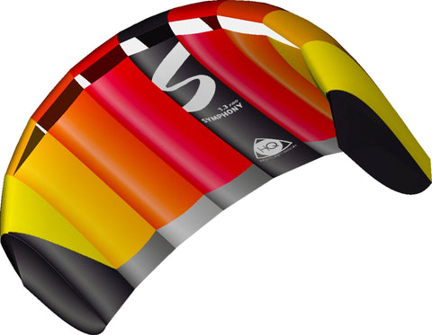 HQ Symphony Pro 1.3M Power Kite - SKY HIGH KITES - 1