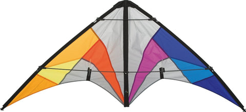 HQ Quickstep II Rainbow Stunt Kite - SKY HIGH KITES