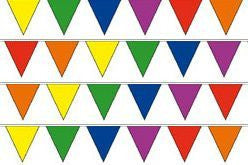 Rainbow Bunting - SKY HIGH KITES