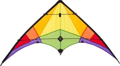 HQ Rookie Stunt Kite Rainbow - SKY HIGH KITES