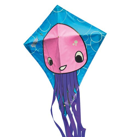 Sealife Jellyfish Diamond Kite - SKY HIGH KITES