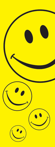 Smiley Face Banner Flag - SKY HIGH KITES