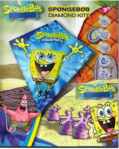 Spongebob Squarepants Single Line Fun Kite - SKY HIGH KITES