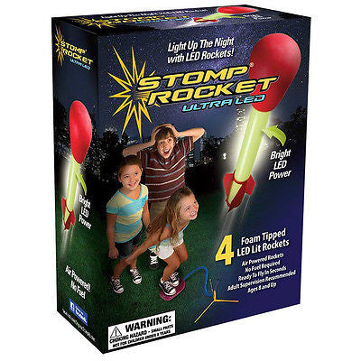 Stomp Ultra LED Rocket Kit - SKY HIGH KITES