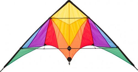 HQ Trigger Stunt Kite Rainbow - SKY HIGH KITES