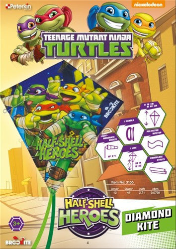 Teenage Mutant Ninja Turtles - Diamond Kite - SKY HIGH KITES