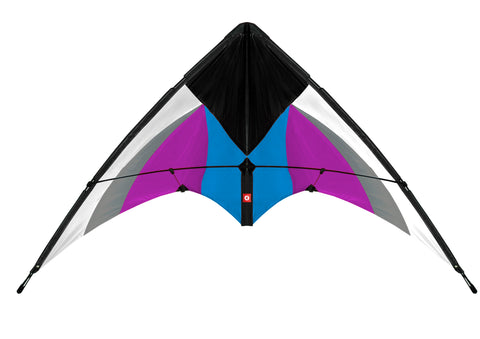 EOLO PopUp Kite Stunt Magic White Purple Duel Line