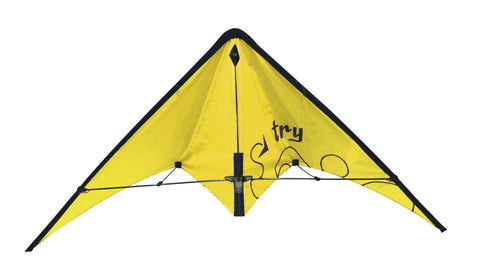 EOLO PopUp Kite Stunt Try Yellow Duel Line