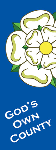 Yorkshire Banner Flag - SKY HIGH KITES