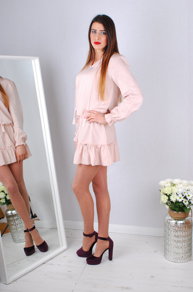 CHLOE DRESS PINK