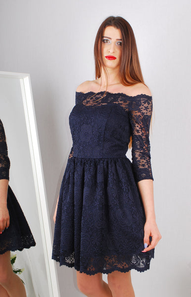 EMMA NAVY DRESS