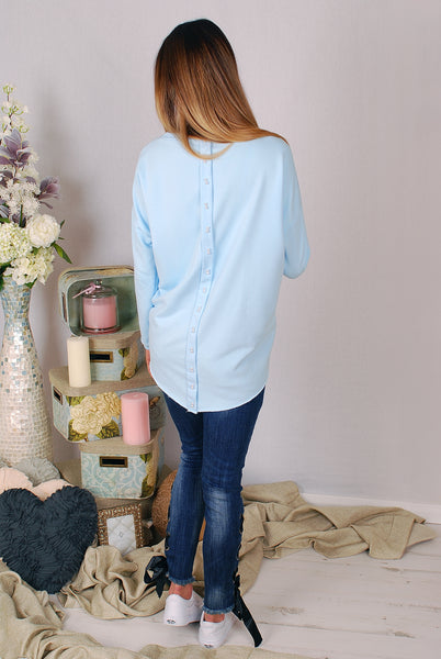 AIDA BLUE SWEATSHIRT