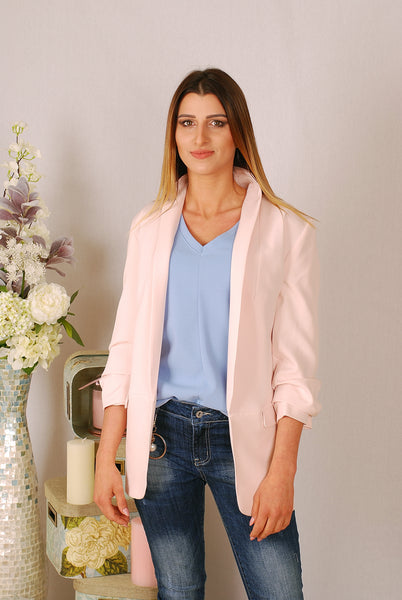 MICHELLE BABY PINK JACKET