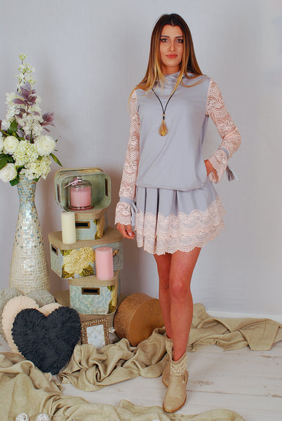 JULIA SET HOODIE AND SKIRT