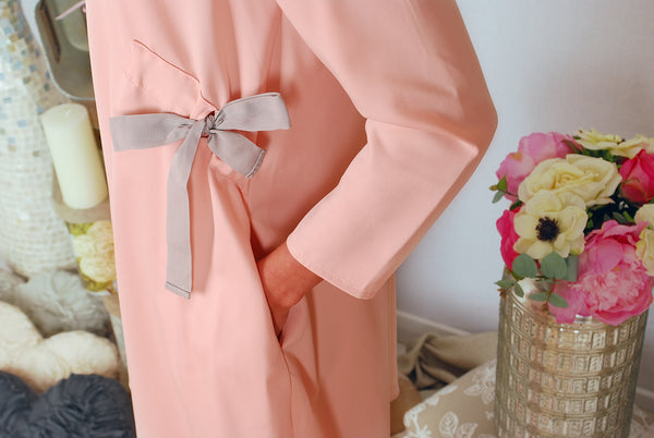 MIA PINK BOW  DRESS