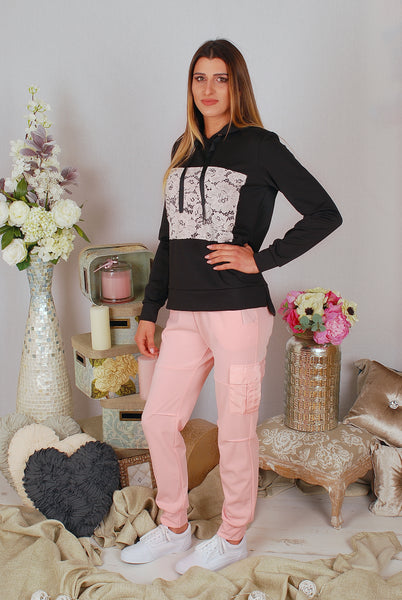 AMANDA PINK SWEATPANTS