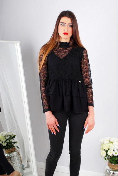 CAMMY BLOUSE BLACK