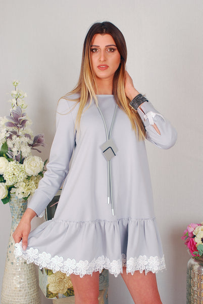 FIORELLA GREY DRESS