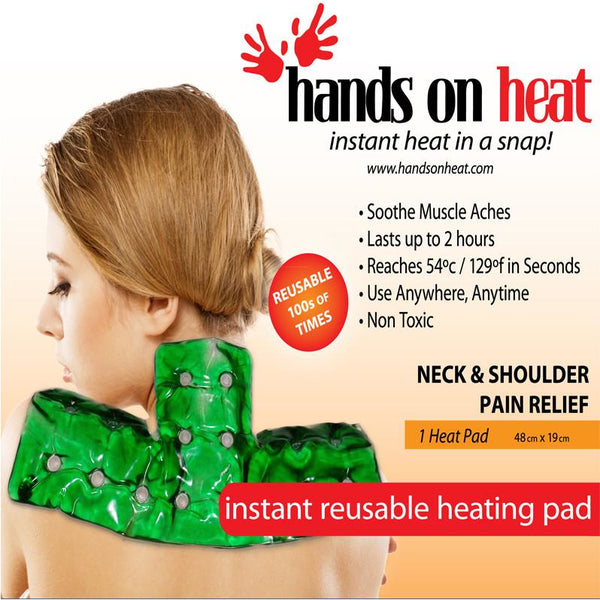reusable heating pad for neck