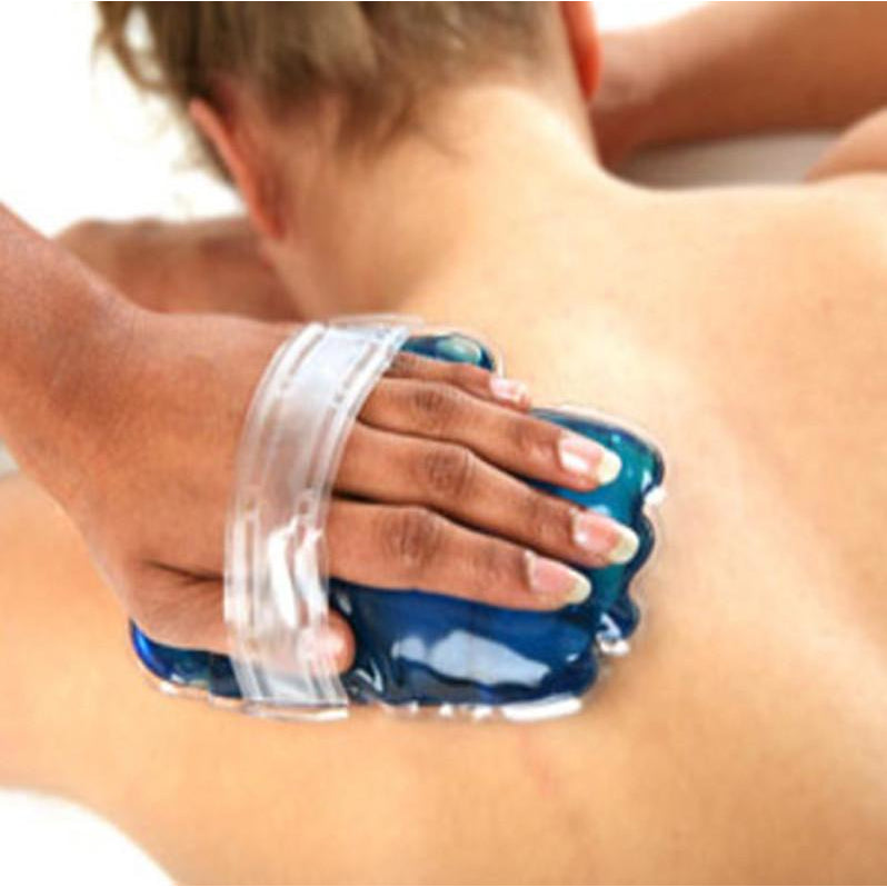 reusable hand warmer with strap for massage