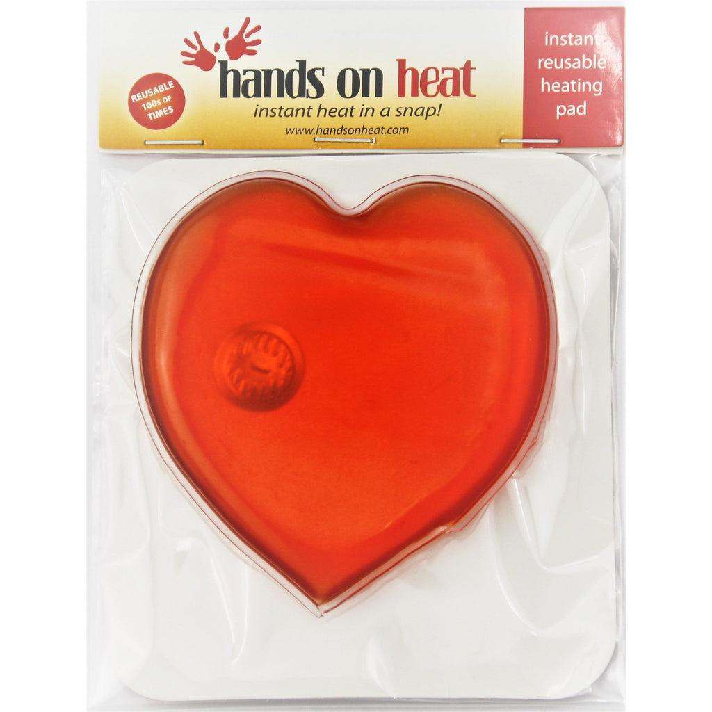 heart shaped reusable hand warmer