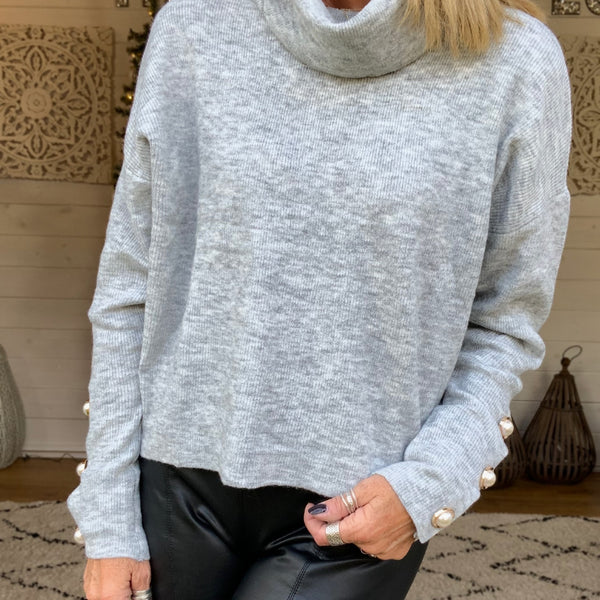 Fenella Cowl Neck Jumper