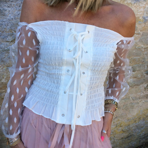 Bridgette Bodice Top