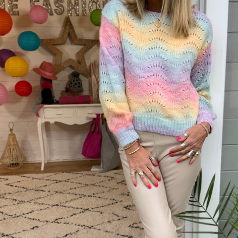 Lily Crochet Jumper