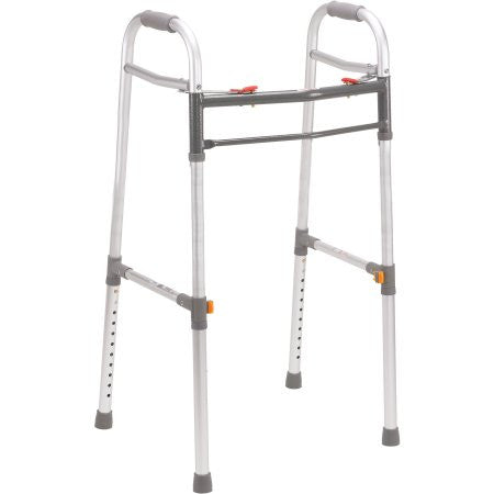 Adult Or Junior Deluxe Folding Walker, Two Button