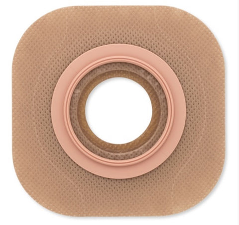"New Image Flat Flextend Colostomy Barrier, Tape 2-3/4"" Flange, Up to 2-1/4"" Stoma"