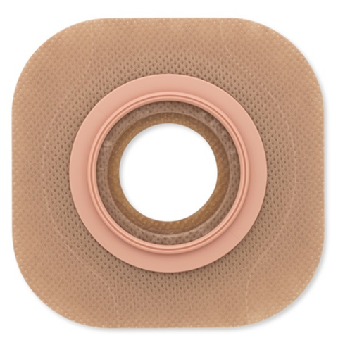 "New Image Flat Flextend Skin Barrier, Tape, 4"" Flange, Yellow Code, Up To 3-1/2"" Stoma"