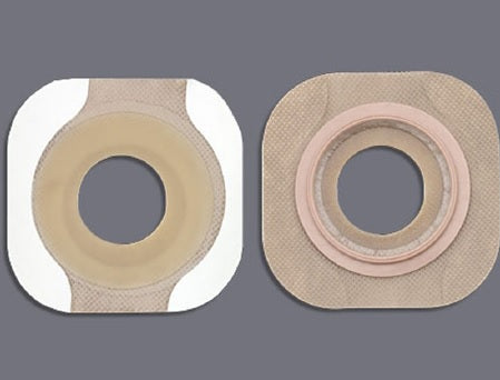 "New Image™ Flextend™ Tape 1-3/4"" Flange Green Code Hydrocolloid Barrier, 1-1/8"" Stoma"