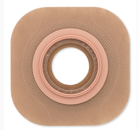 "New Image Flat Flextend Skin Barrier Without Tape, 2-1/4"" Flange, Up To 3-1/4"" Stoma"