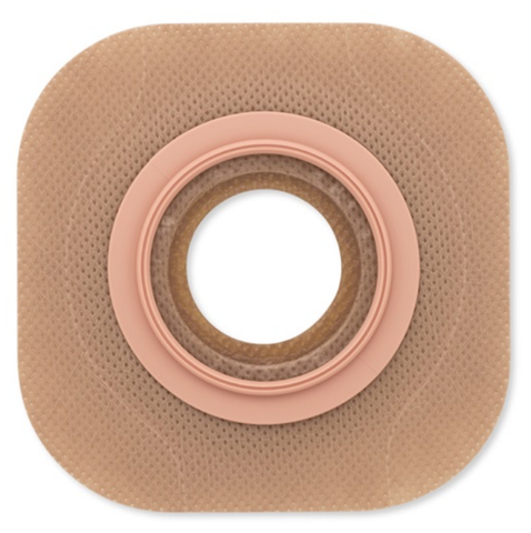 "New Image Flat Flextend Colostomy Barrier Without Tape, 2-3/4"" Flange, Up to 2-1/4"" Stoma"
