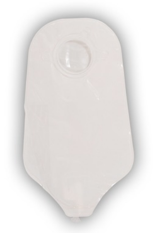 "SUR-FIT Natura® Drainable Urostomy Pouch - 10"" Length, 2-1/4 Inch Flange, Transparent"