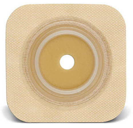 "Sur-Fit Natura®, Durahesive™ Ostomy Barrier, Without Tape, 1-1/2"" Flange,  4"" X 4"""