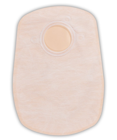 "SUR-FIT Natura® Two-Piece Closed-End Ostomy Pouch, 2-3/4 Inch Flange, 7-7.5"" Length"