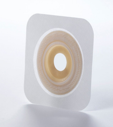 "Sur-Fit Natura® Durahesive™ Colostomy Barrier, With Tape, 1-3/4"" Flange, 3/4"" Stoma"