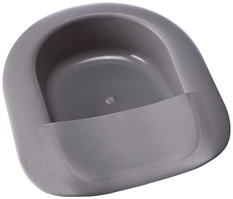 Extra large and strong bedpan - 900 lb weight capacity.