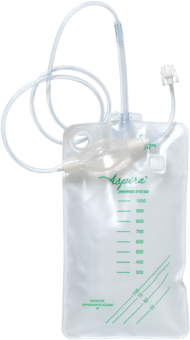 Aspira Pleural 1000 ml Drainage Bag