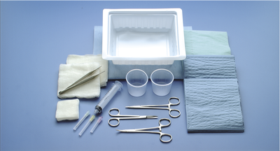 Busse Hospital Disposables #549 ER Laceration Tray