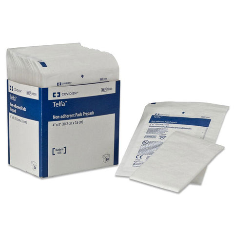 TELFA 3X4IN OUCHLESS NONADHERENT STERILE DRESSING