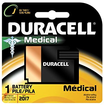 Duracell 7K67BPK Home Medical Battery, 6.0 Volt