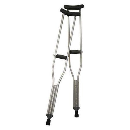 Aluminum Adult Adjustable Crutch