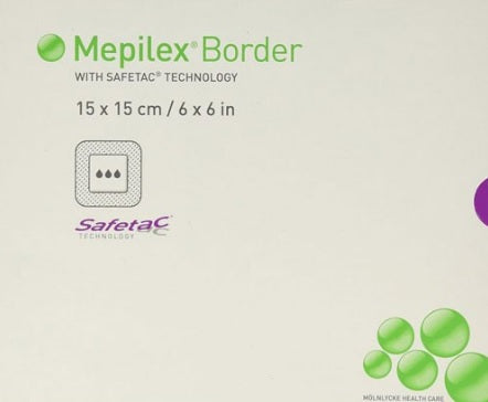 Mepilex Border Foam Dressing 6 x 6 Inch