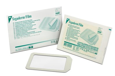 "3M Tegaderm Transparent Dressing, 6"" x 8"" box/10"