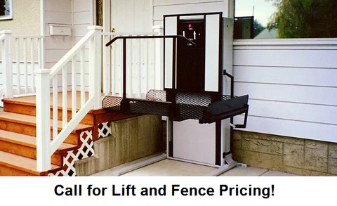 Outdoor Residential Lift - Sales limited to East Tennessee only