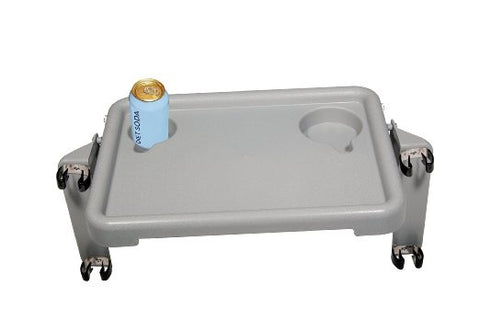 "Deluxe Folding Walker Tray, Gray, 16"" x 12"""