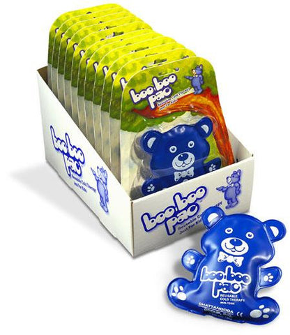 boo-boo pac Bear Shape (1534) Blue - Box/12