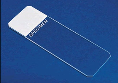 Superfrost® Clipped Corner Slides. White. 75 x 25mm - Case of 2800